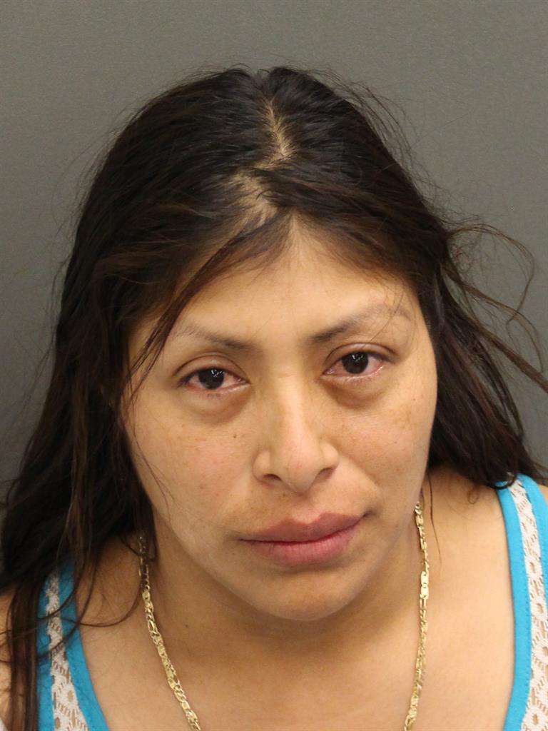 FLORIDALMA ROSELIA MORALESVELASQUEZ Mugshot / County Arrests / Orange County Arrests