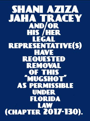 SHANI AZIZA JAHA TRACEY Info / Orange County Info / Orange County Info and Public Records