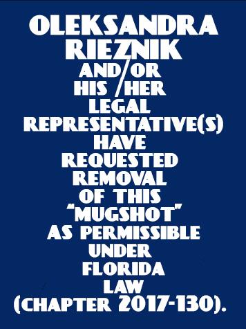 OLEKSANDRA RIEZNIK Info / Orange County Info / Orange County Info and Public Records