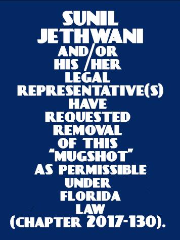 SUNIL JETHWANI Info / Orange County Info / Orange County Info and Public Records