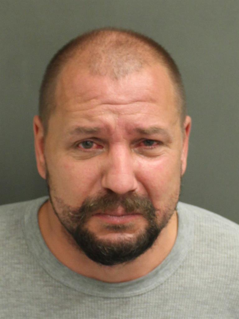 SEAN JAMES BROWN Mugshot / County Arrests / Orange County Arrests