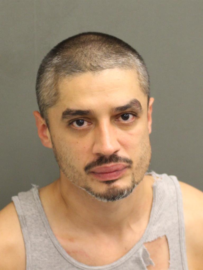 DAVID ANTHONY RUIZ Mugshot / County Arrests / Orange County Arrests