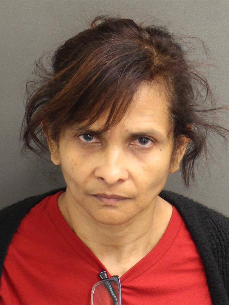 PAULETTE KERRY ANN BENJAMIN Mugshot / County Arrests / Orange County Arrests