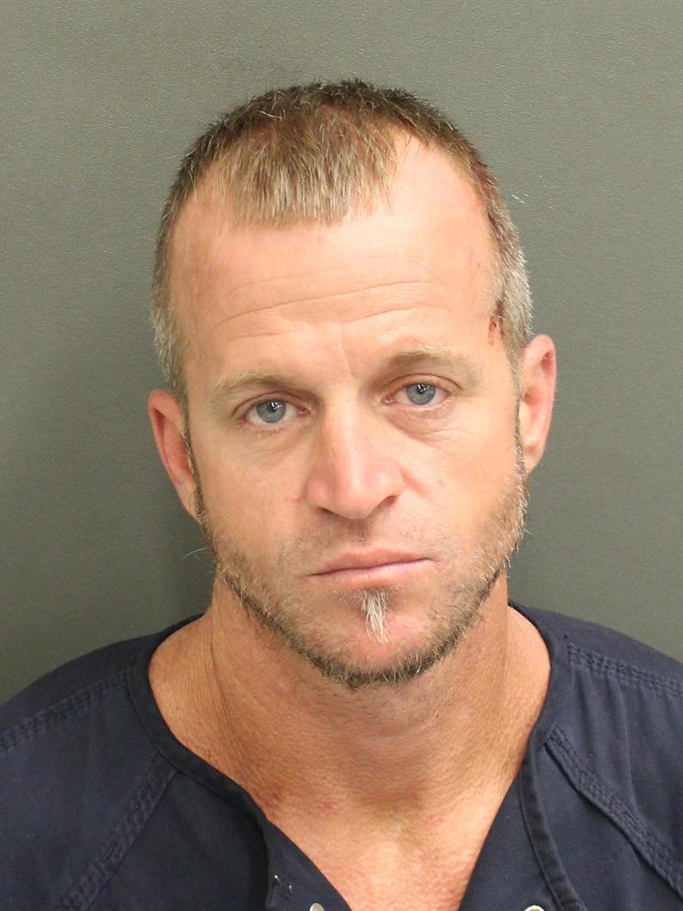 BRANDON SCOTT HODGE Mugshot / County Arrests / Orange County Arrests