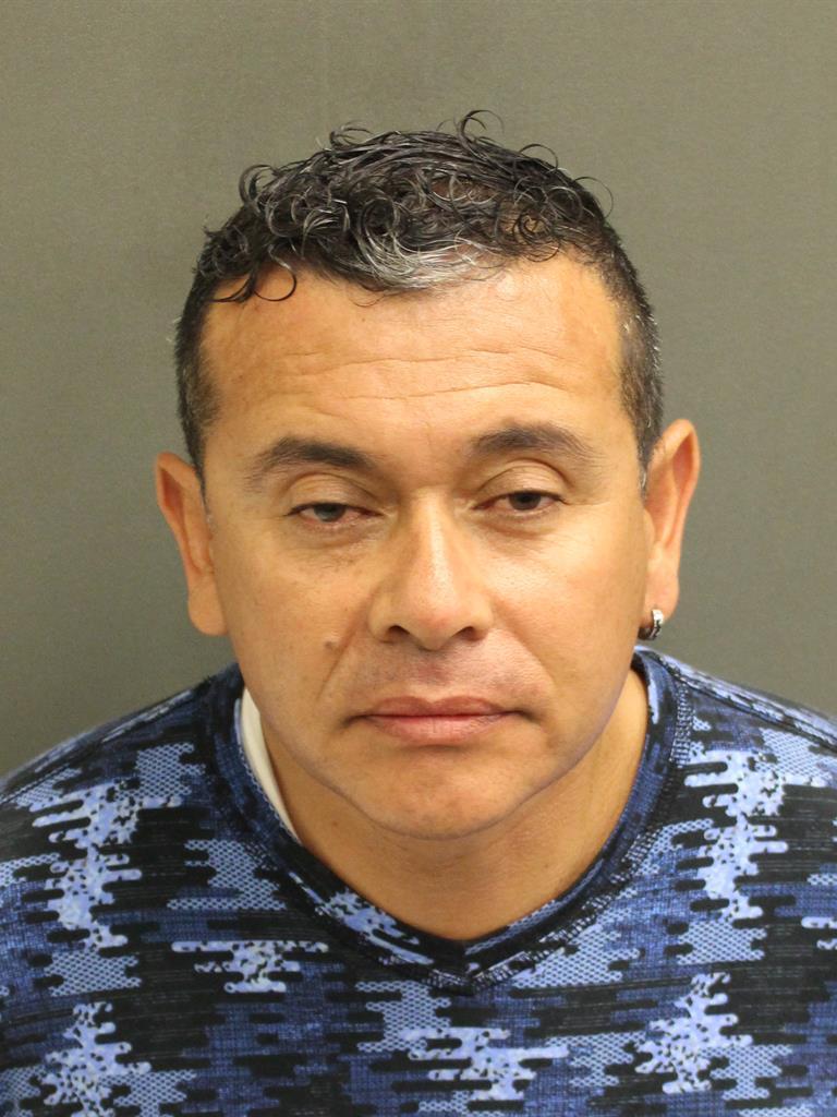 DARIO ERNESTO PINZON Mugshot / County Arrests / Orange County Arrests