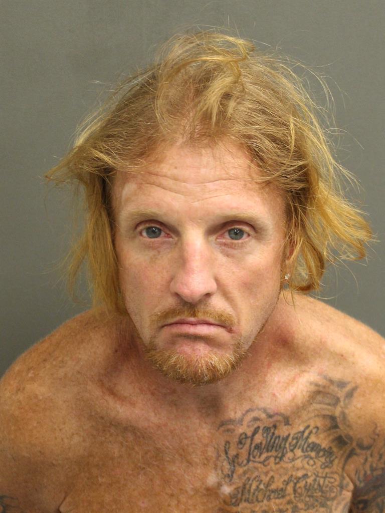 JAMES ALFRED III CRIST Mugshot / County Arrests / Orange County Arrests
