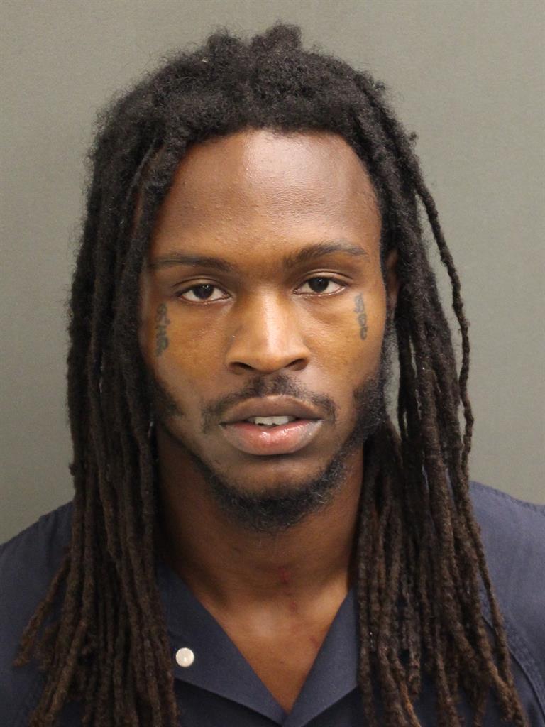 DARRIEL DEVANTE MITCHELL Mugshot / County Arrests / Orange County Arrests