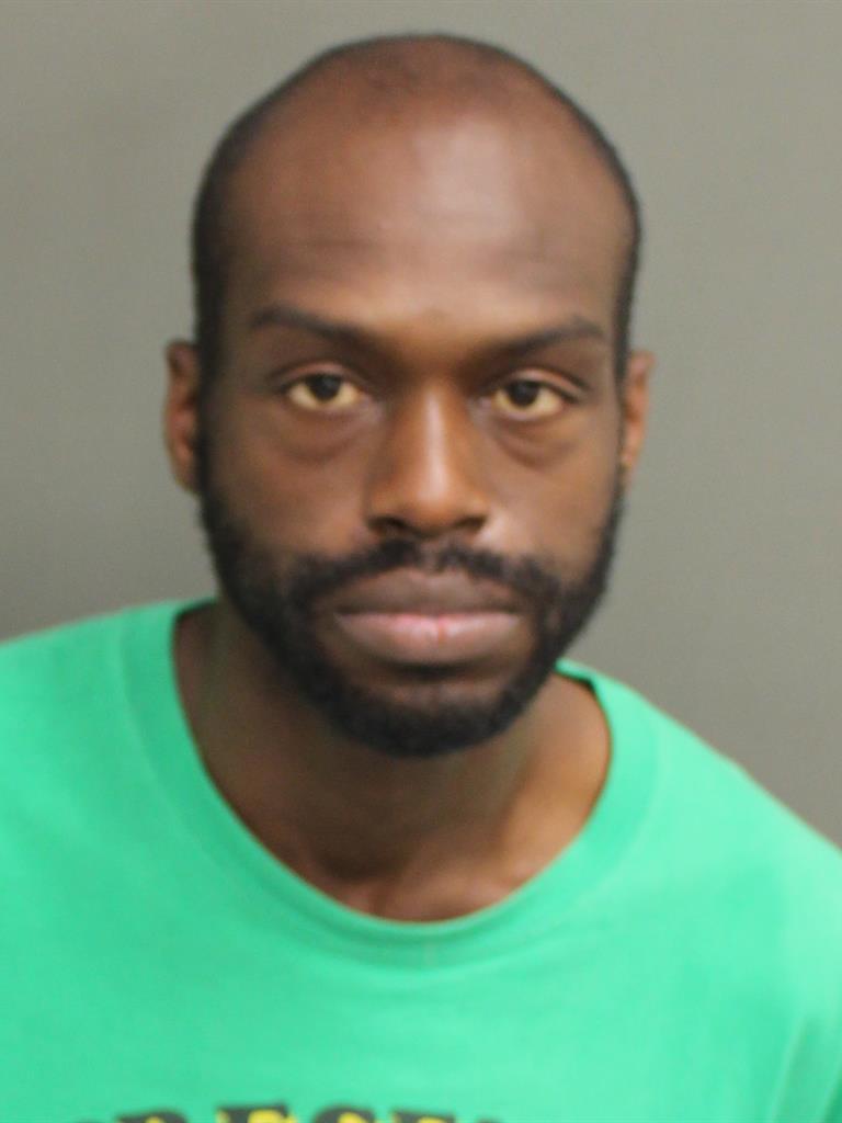 BYRON JARROD FRAZIER Mugshot / County Arrests / Orange County Arrests