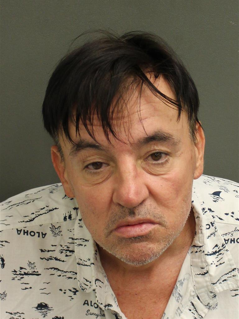 CHARLES FRANK MACK Mugshot / County Arrests / Orange County Arrests