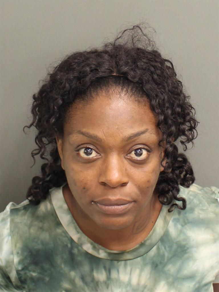 BRITTANY DAVINA BRYANT Mugshot / County Arrests / Orange County Arrests